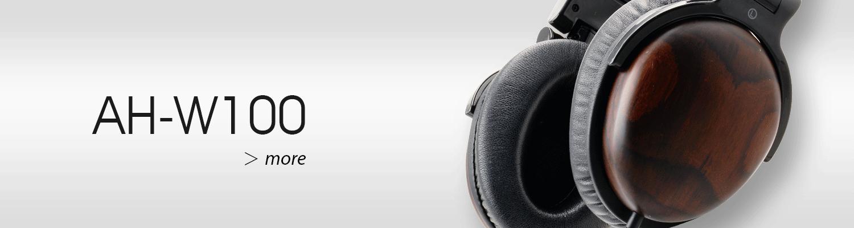 AH-W100 headphones